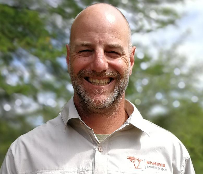 Portrait photo of Armin Schuff, an expert Africa Experience guide in Namibia