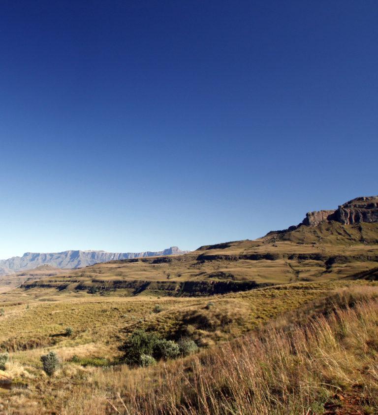 Hiking the Drakensberg Mountains