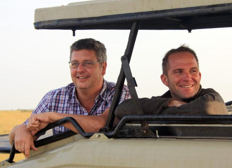 Holger & Henning in the Masai Mara