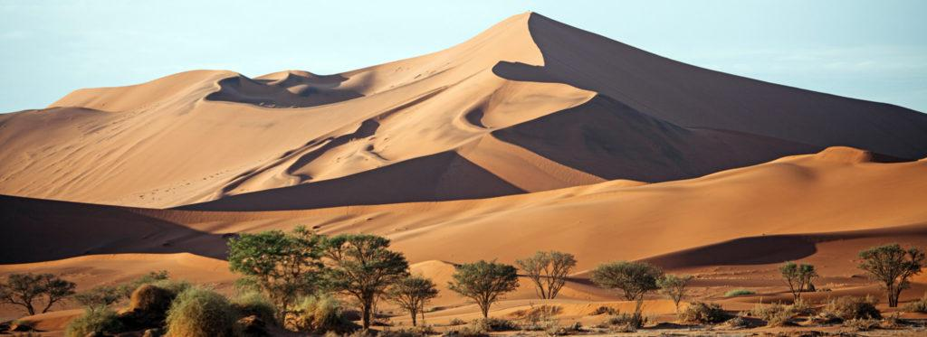 A dune in Sossusvlei Namibia